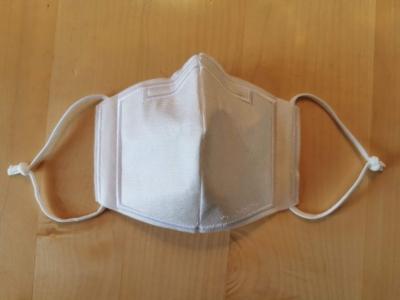Stoffmaske für Mund und Nase weiss (10er Pack)